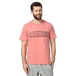 RJR.John Rocha - Designer peach filled lines t-shirt