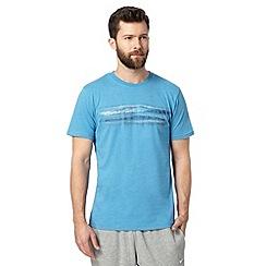 RJR.John Rocha - Designer blue filled lines t-shirt