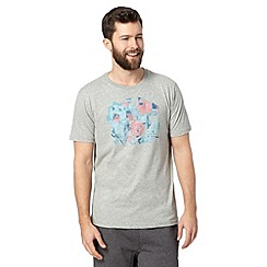 RJR.John Rocha - Designer light grey circle print t-shirt