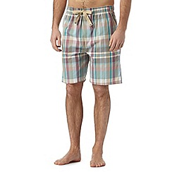 RJR.John Rocha - Designer grey checked shorts