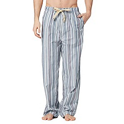 RJR.John Rocha - Designer blue striped lounge bottoms