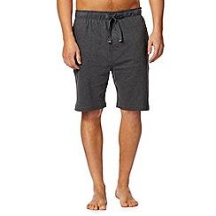RJR.John Rocha - Designer dark grey jersey shorts