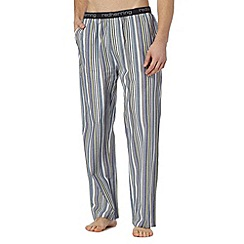 Red Herring - Purple irregular striped pyjama bottoms