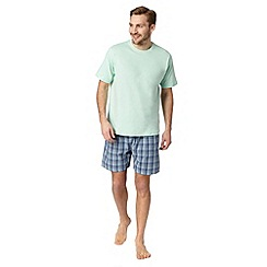 Maine New England - Light green t-shirt and shorts set