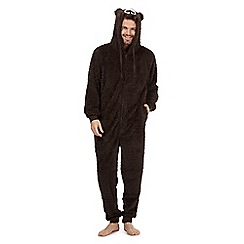 Mantaray - Brown bear onesie