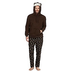 Mantaray - Brown monkey twosie set
