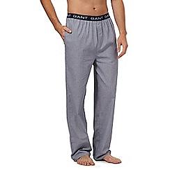 Gant - Navy gingham woven pyjama bottoms