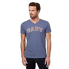 Gant - Blue logo t-shirt