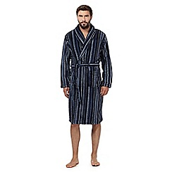 RJR.John Rocha - Blue stripe dressing gown