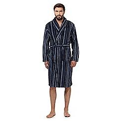 RJR.John Rocha - Blue stripe dressing gown