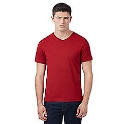 Red Herring - Red V neck t-shirt