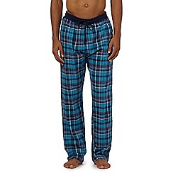 Red Herring - Turquoise check pyjama bottoms