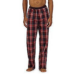 Red Herring - Red check pyjama bottoms