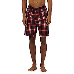 Red Herring - Red check pyjama shorts