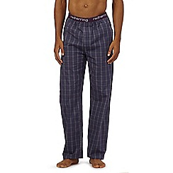 Red Herring - Grey check pyjama bottoms