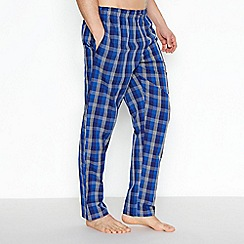 Calvin Klein - Purple checked pyjama trousers
