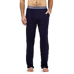 Calvin Klein - Navy logo jersey bottoms