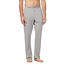 Tommy Hilfiger - Grey logo jersey trousers