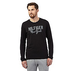 Tommy Hilfiger - Black long-sleeved t-shirt