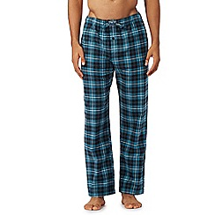 Tommy Hilfiger - Blue checked pyjama bottoms