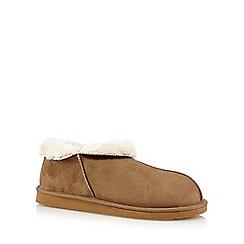 RJR.John Rocha - Tan suedette slipper boots