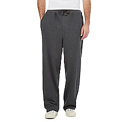 RJR.John Rocha - Dark grey cotton joggers