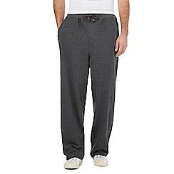 RJR.John Rocha - Dark grey cotton joggers