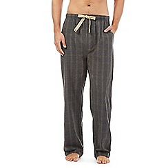 RJR.John Rocha - Designer grey grid checked pyjama bottoms
