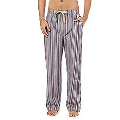 RJR.John Rocha - Wine striped pyjama trousers