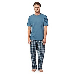 Maine New England - Blue short sleeve top and bottoms set