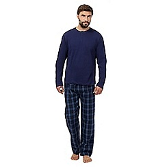Maine New England - Blue long sleeve top and pant loungewear set
