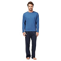 Maine New England - Blue long sleeve top and bottoms set