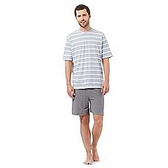 Maine New England - Beige striped loungewear set