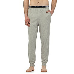 Calvin Klein - Grey logo waistband pyjama bottoms