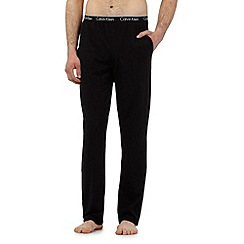 Calvin Klein - Black logo waistband pyjama bottom