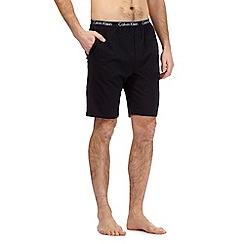 Calvin Klein - Black pyjama shorts