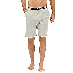 Calvin Klein - Grey basic jersey shorts