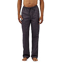 Calvin Klein - Dark grey checked pyjama bottoms
