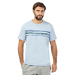 RJR.John Rocha - Light blue line print t-shirt