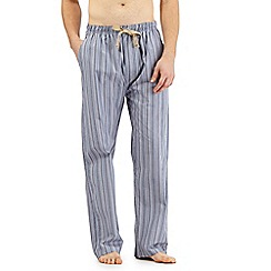 RJR.John Rocha - Blue striped print lounge bottoms