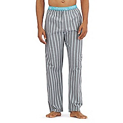 Red Herring - Grey striped print pyjama trousers