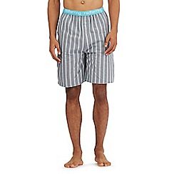 Red Herring - Grey striped pyjama shorts