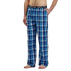 Red Herring - Blue checked print pants