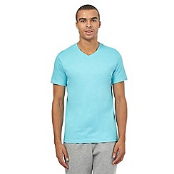 Red Herring - Aqua V neck t-shirt