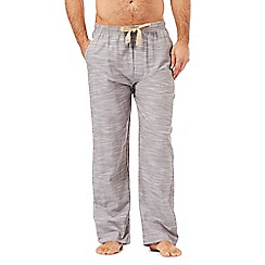RJR.John Rocha - Grey textured lounge bottoms