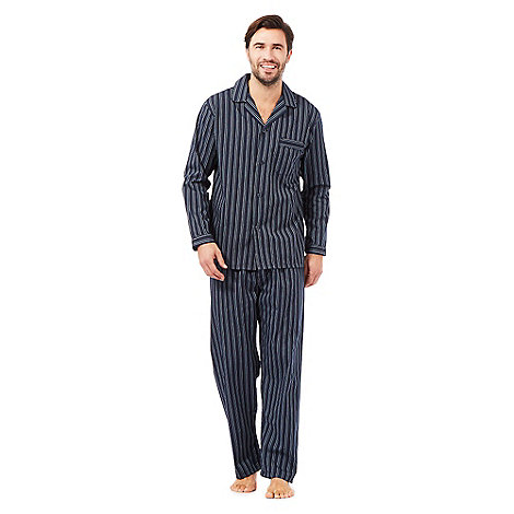 Maine New England - Navy striped pyjama set