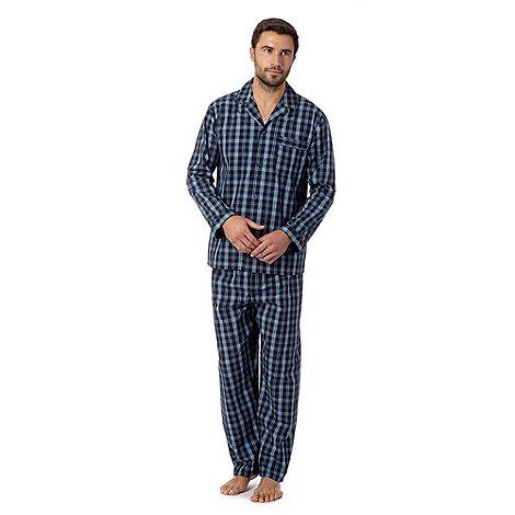Maine New England - Blue check pyjama set