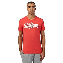 Tommy Hilfiger - Red logo t-shirt