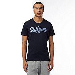 Tommy Hilfiger - Navy logo t-shirt