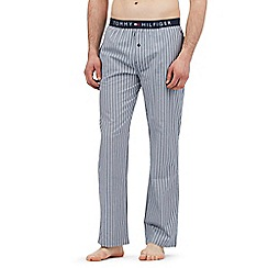 Tommy Hilfiger - Blue striped woven pants